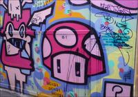 Graffiti mushroom