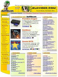 Homepage du 13 septembre 1999